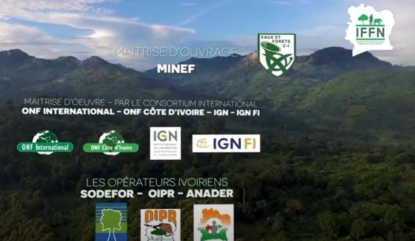 Collecte des données - Inventaire Forestier et Faunique de la Côte d'Ivoire